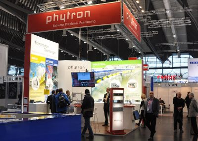 Phytron Messestand SBS 2015