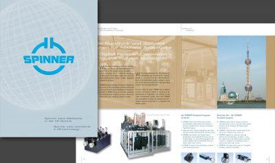 Imagebroschüre Spinner